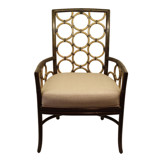 McGuire Laura Kirar Ring Arm Chair - Image 1 of 6