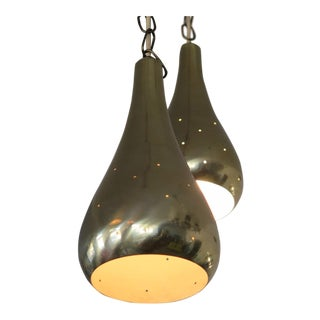 Pair of Tynell Style Pendant Lamps