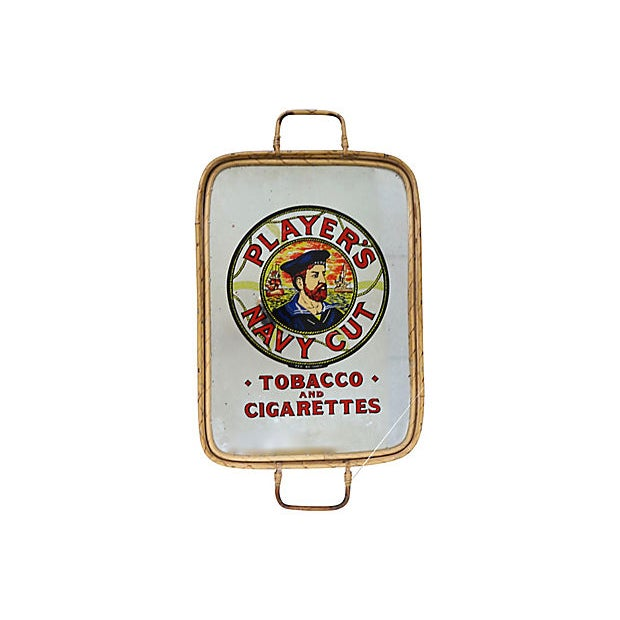 1960s 1960s English Cigarette Advertising Pub Tray For Sale - Image 5 of 5