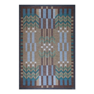 Ulla Parkdal Swedish Flat-Weave Carpet, 1960s For Sale