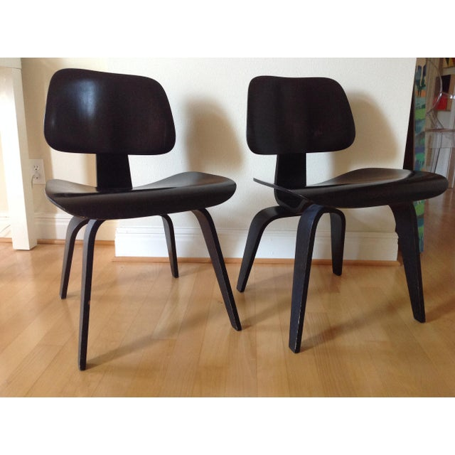 Charles Eames Dcw for Evans Products Co. & Herman Miller - A Pair For Sale - Image 9 of 11