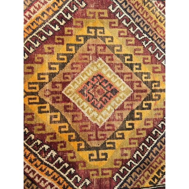 "Bellwether Rugs Vintage Turkish Oushak Rug - 4'1""x8'11"" - Image 5 of 9"