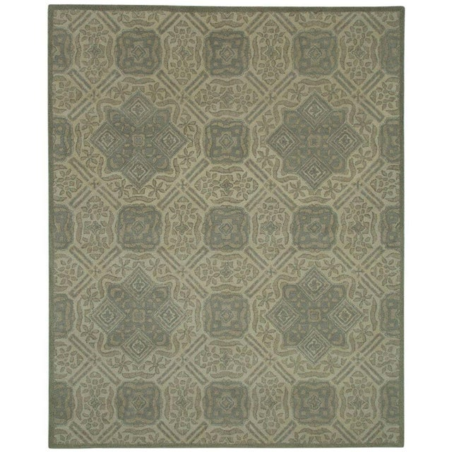 Gray Traditional Pattern Rug - 5' x 8' For Sale - Image 4 of 4