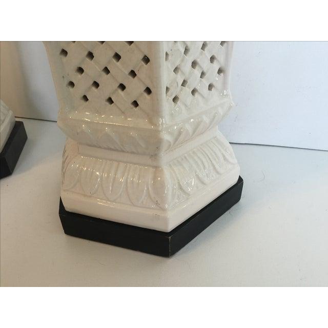 Nardini Studios Pagoda Lamps - Pair - Image 4 of 6