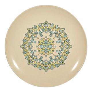 1960s Vintage Japan Round Serving Plate