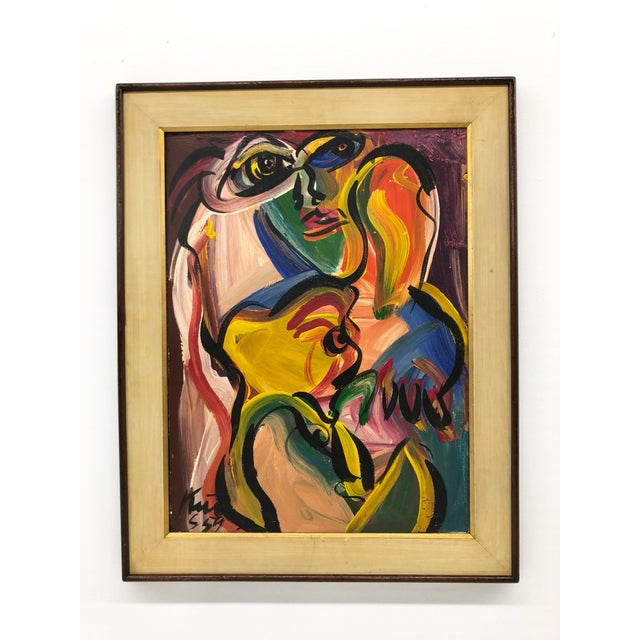 1959 Peter Kiel Oil Painting For Sale - Image 10 of 10