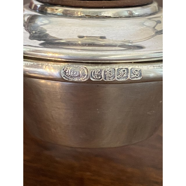 Antique English Silver Serving Warmer For Sale - Image 9 of 13