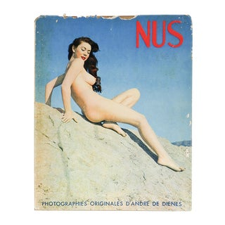 Nus French Book of Artistic Nude Photographs by Dienes For Sale