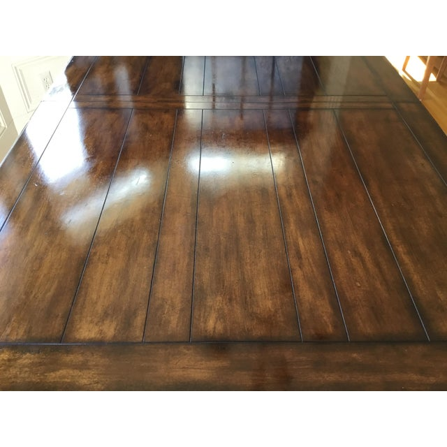 French Country Distressed Dining Table For Sale - Image 9 of 10