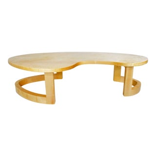 Contemporary Custom Signed Coffee Table For Sale
