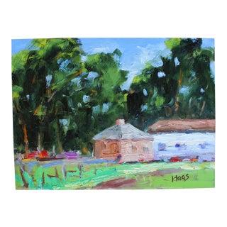 Original Oil Painting, Plein Air California Landscape For Sale