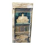 Image of Antique Barn Door Farmhouse Wine Cellar Door Eclectic Rustic Art For Sale