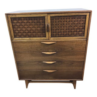 Lane Mid-Century Highboy Dresser