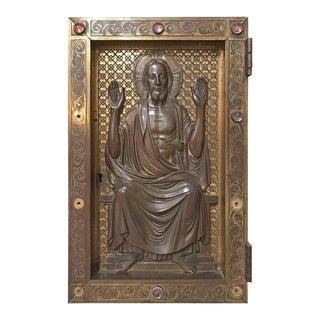 Antique Tabernacle Door, circa 1800