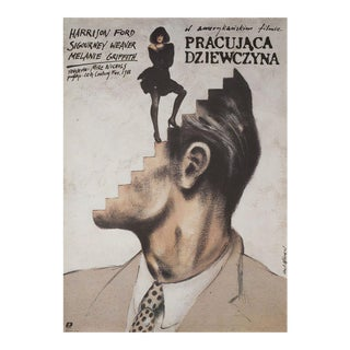 Working Girl 1990 Polish B1 Film Poster For Sale