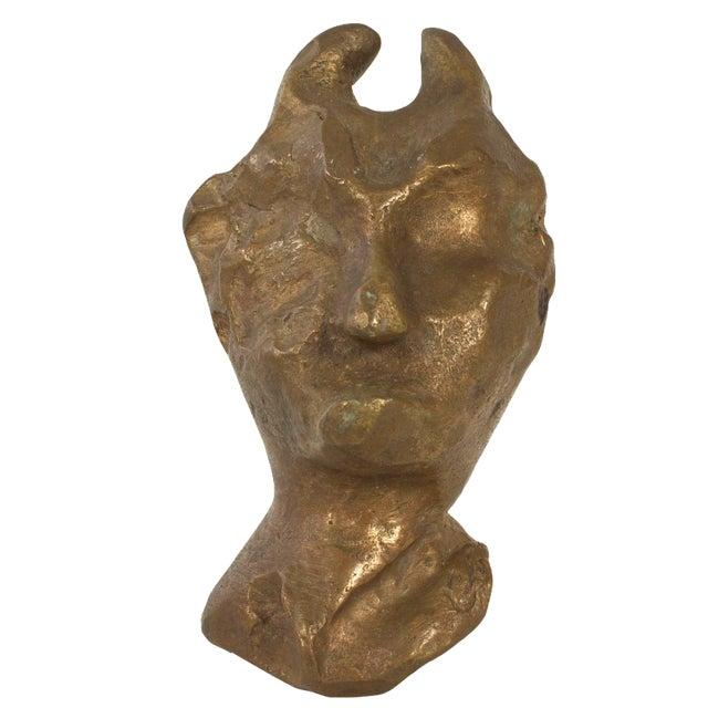Brutalist Devil Sculpture - Image 1 of 4