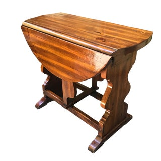 American of Martinsville Pine Butterfly Drop Leaf Table For Sale