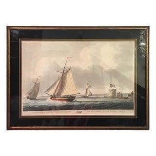 Old English Sloops at Sea Print