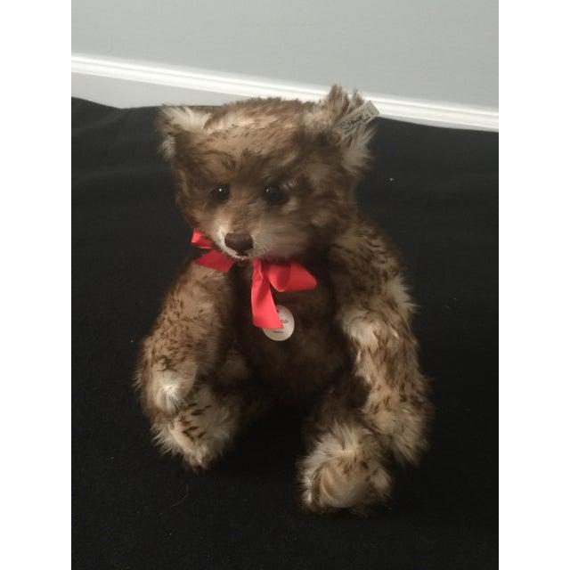 "Antique Steiff Teddy Bear - Replica, 1926 ""Happy Anniversary"" Teddy Bear For Sale - Image 4 of 12"