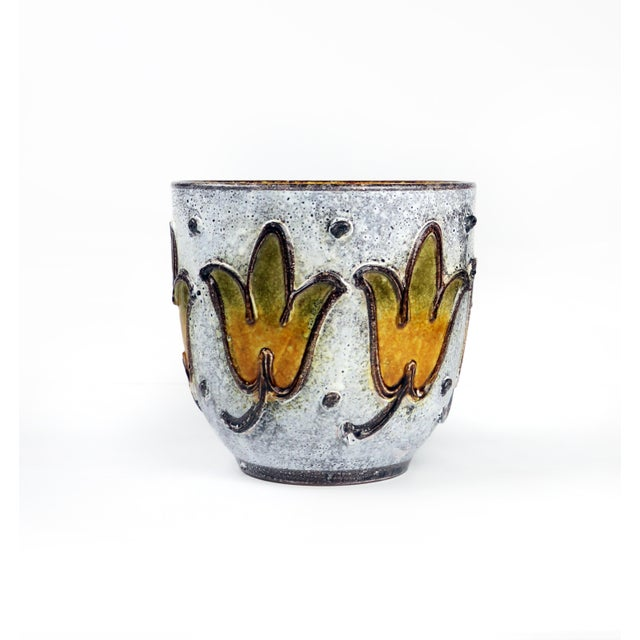 1960s Italian Ceramic Planter For Sale - Image 9 of 9