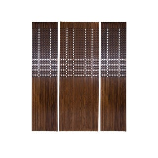 1960s Walnut Architectural Panels For Sale