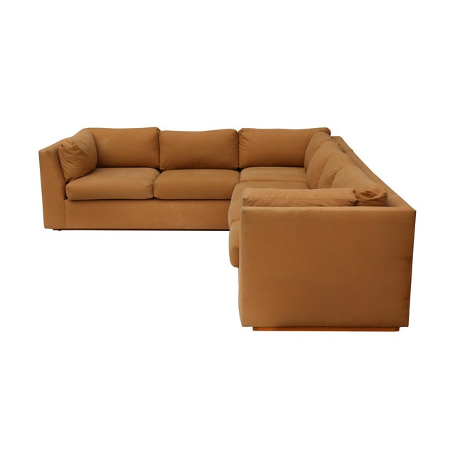 Modern 3-Piece Sectional Sofa For Sale - Image 5 of 10