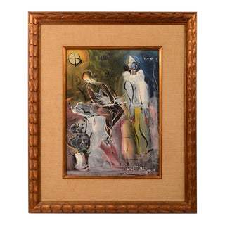 Walter Philipp Signed Original Painting For Sale