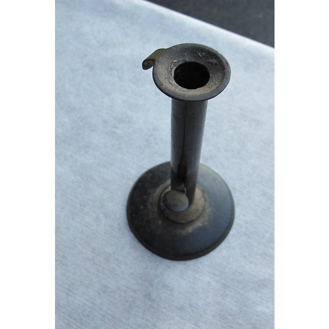 19th-C. Hog Scraper Candleholder For Sale - Image 4 of 5