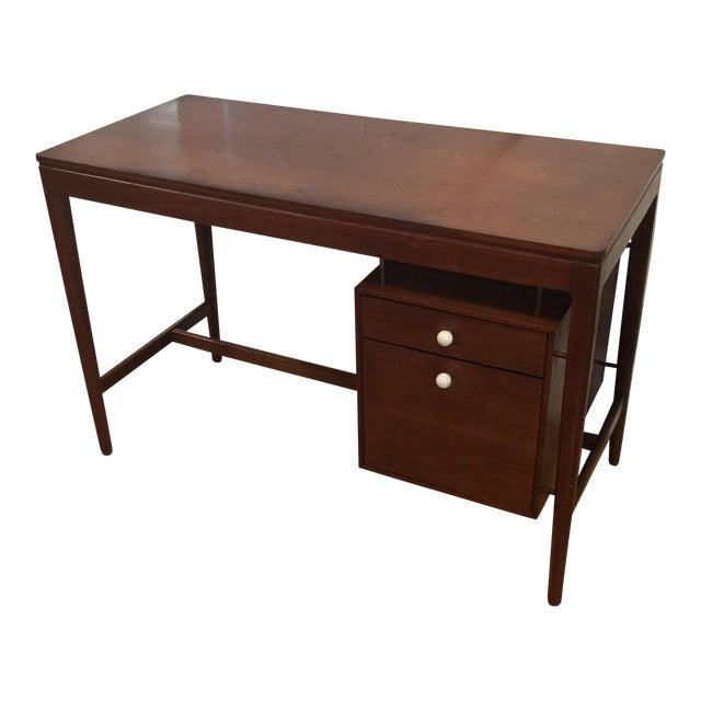 Drexel Mid-Century Walnut Desk - Image 1 of 11