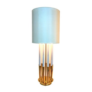 1960s Hollywood Regency Stiffel Parzinger Style Lamp For Sale
