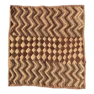 Late 20th Century Kuba Cloth Panel For Sale