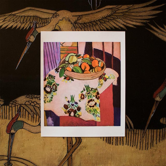 """Modern 1940s Henri Matisse, """"Oranges"""" Original Period Swiss Lithograph For Sale - Image 3 of 6"""
