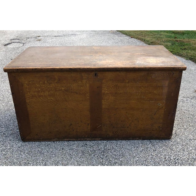 Late 19th Century Primitive Blanket Chest For Sale - Image 12 of 12