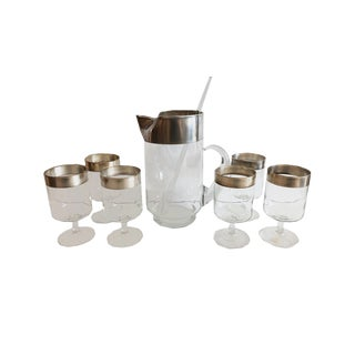 Dorothy Thorpe Allegro Cocktail Set For Sale