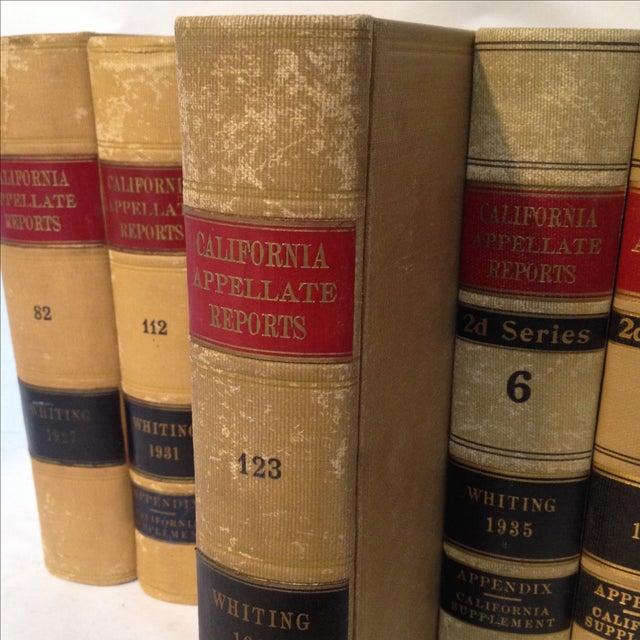 law books california appellate reports set of 7 chairish