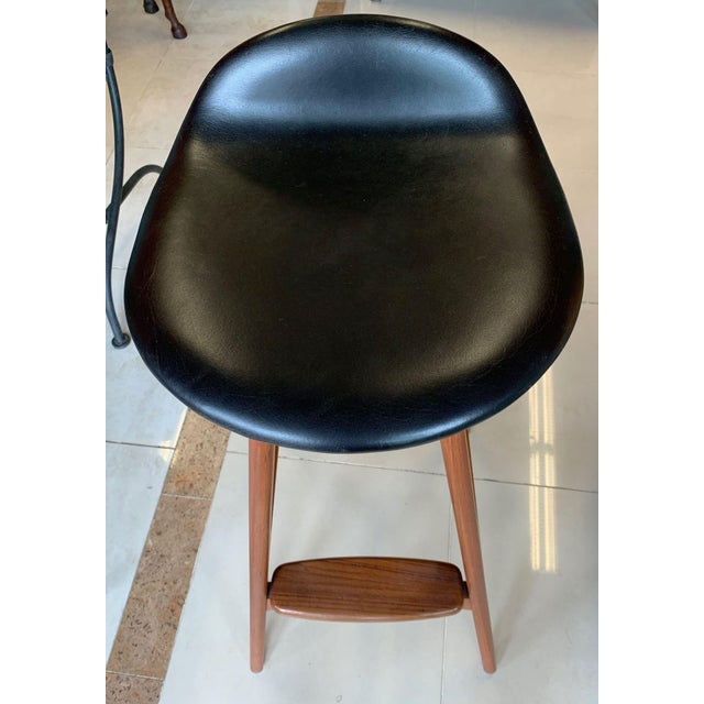 1970s Eric Buch Danish Modern Stools - A Pair For Sale - Image 5 of 13