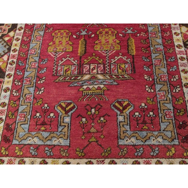Traditional Antique Kirsehir Prayer Rug For Sale - Image 3 of 6