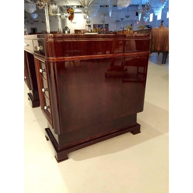 French Art Deco Two-Tone Desk For Sale In New York - Image 6 of 10