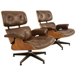 Eames 670 Lounge Chairs for Herman Miller - A Pair For Sale