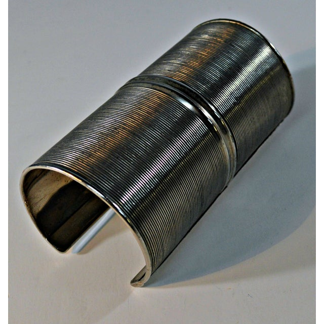 African African Metal Tribal Bracelet For Sale - Image 3 of 6