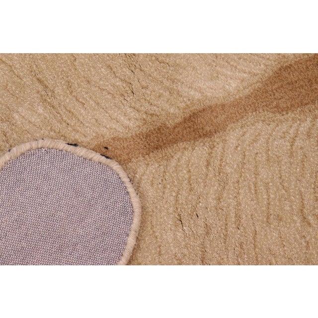 Boho Chic Lioness Shaped Animal Design Area Rug For Sale - Image 9 of 12