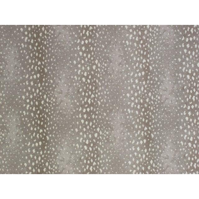 "Stark Studio Rugs Stark Studio Rugs Rug Deerfield - Stone 9""x9"" Sample For Sale - Image 4 of 4"