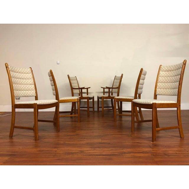 Johannes Andersen for Uldum Vintage Teak Dining Chairs - Set of 6 For Sale - Image 12 of 12