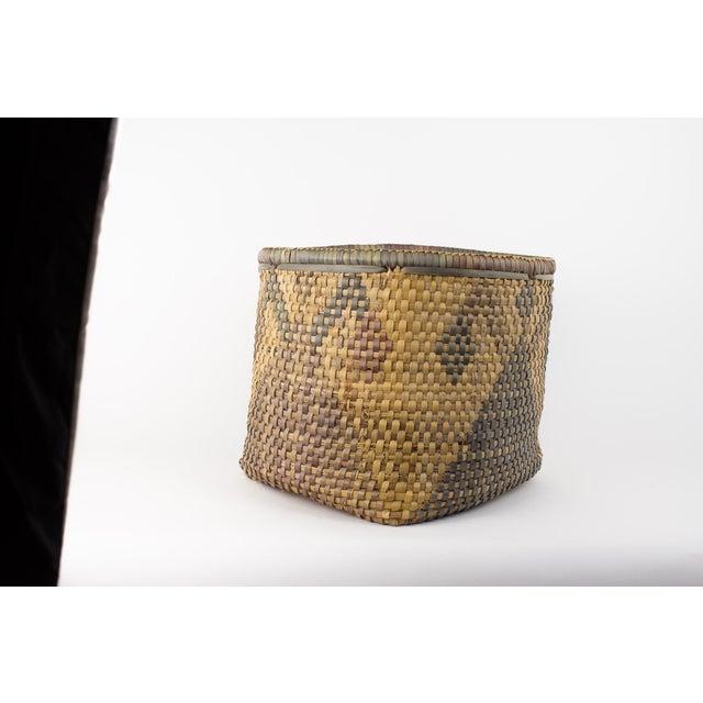 Vintage Tribal Basket For Sale - Image 12 of 12