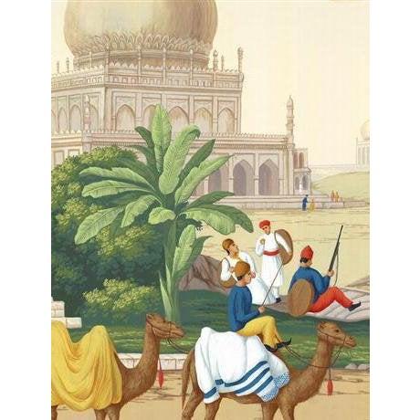 Casa Cosima Classic Jaipur Mural - Sample For Sale