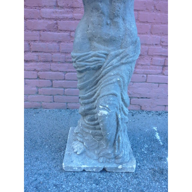Italian Stone Female Statue - Image 4 of 4