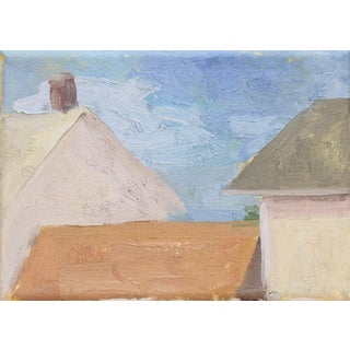 """Salt Cloud"" Original Oil Painting on Canvas by Michelle Farro For Sale"