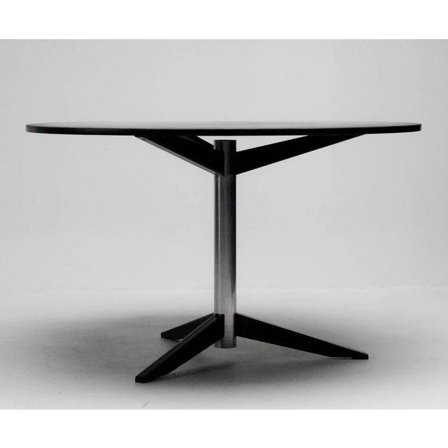 1960s Dining Table Model Te06 in Slate by Martin Visser for 't Spectrum For Sale - Image 5 of 8