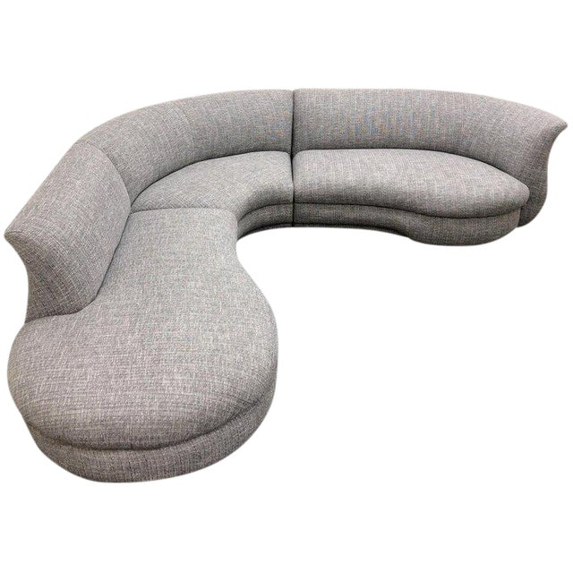 Three-Piece Sectional Sofa For Sale
