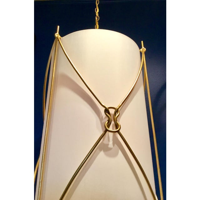 2010s Currey & Co. Large Ariadne Pendant Light For Sale - Image 5 of 7